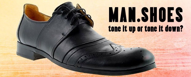 Wedding Shoes for Men: Tone it Up or Tone it Down?