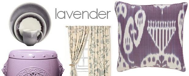 Interior Design Trends: Lavender