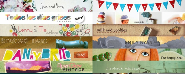 Etsy Store Banners & Creating Complementing Business Identities