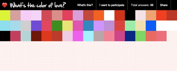 Eclectic Color Roundup: What's the Color of Love?