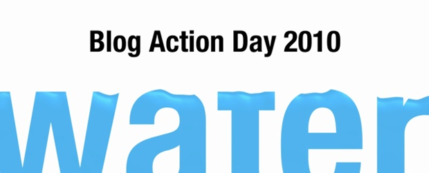 Blog Action Day: Water