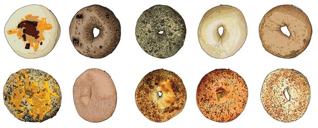 Karl Addison's Bagels & the Hand-drawn Ad Trend