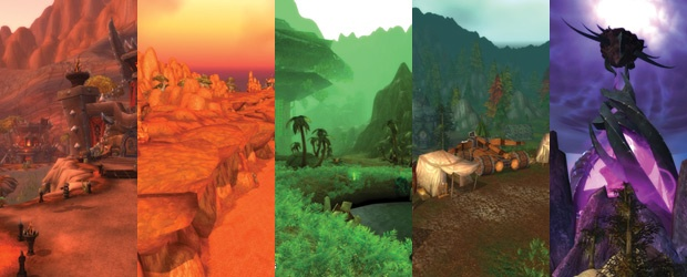 The Colorful 'World of Warcraft'