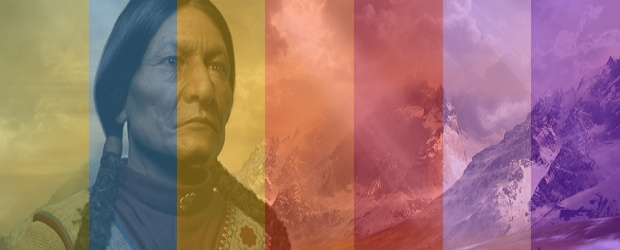 An American Indian Color Legend