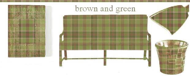 Interior Design Trends: Brown &amp; Green 