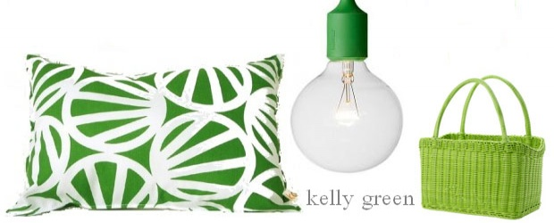 Interior Design Trends: Kelly Green