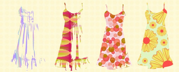 Spring 2011 Dresses: 60's Housewife Trend