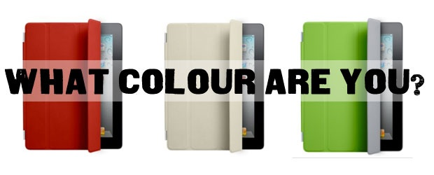 Covering up with Color: iPad Smart Cover