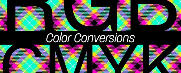 Color Conversions from RGB to CMYK