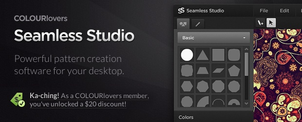 Seamless Studio for Mac/PC ~ Pattern Power!