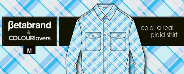 Color a Plaid Shirt Contest by Betabrand + COLOURlovers