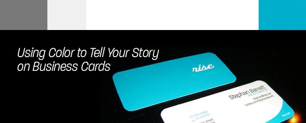 Using Color to Tell Your Story on Business Cards