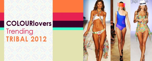 Tribal 2012 Swim Fashion Meets COLOURlovers Designs