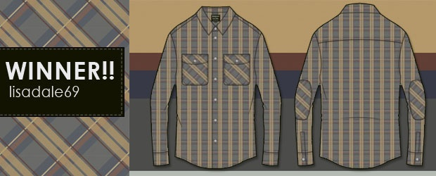 Betabrand + COLOURlovers: Color-a-Plaid Shirt Contest Winner!