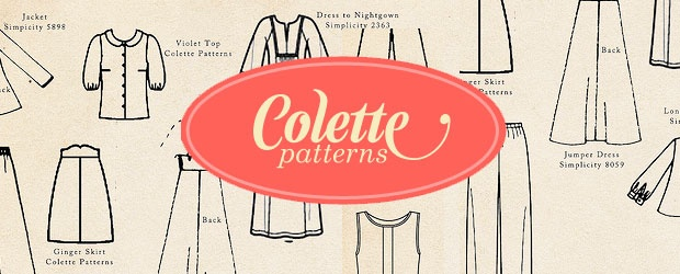 Colette Patterns Fall Palette Challenge