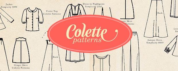 Colette Patterns Fall Palette Challenge