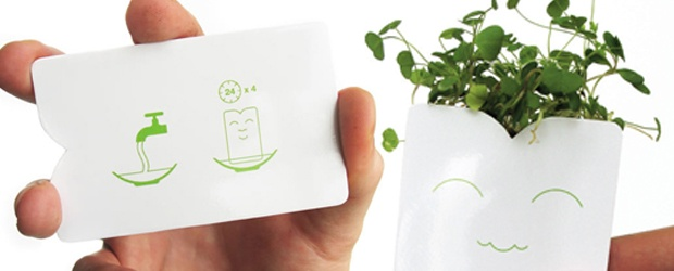 Functional Business Cards for the Hands-on Consumer