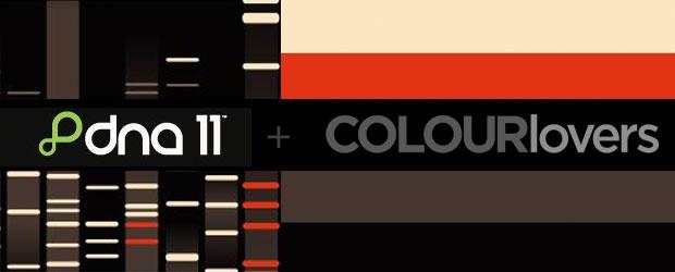 DNA11 + COLOURlovers Palette Contest: Announcing Winners!