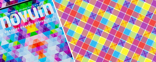 A Colorful &amp; Tactile Magazine Cover for a True Hands-on Experience