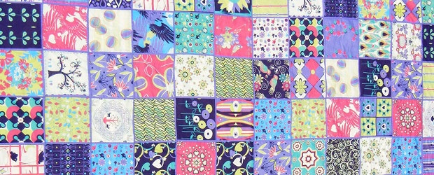 Collaborative COLOURlovers Project: Spoonflower Quilt for a Queen