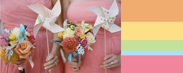 Sweet Summer Sorbet Wedding Inspiration