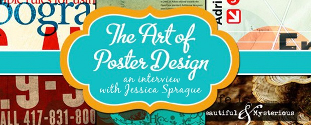 COLOURlovers Interview &amp; Giveaway with Jessica Sprague on The Art of Poster Design