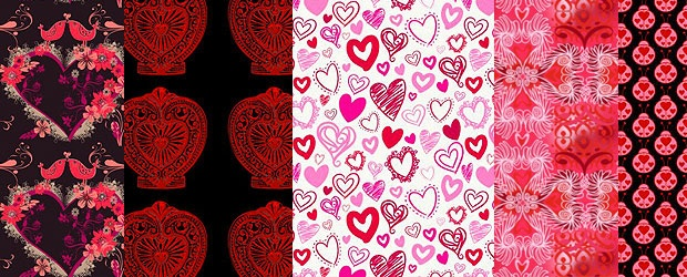 Be My Valentine, Color + Group Feature: Valentine Template Challenge