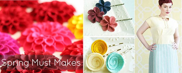 National Craft Month Kickoff: A Collection of Spring Must Makes