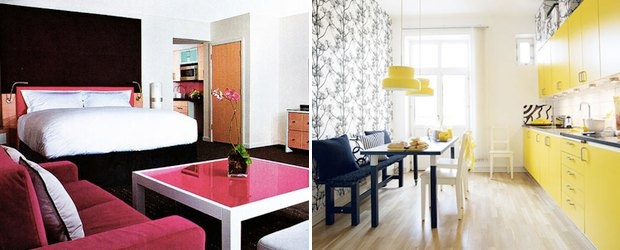 Designing Your Home With Black, White and COLOR! 