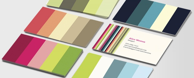 MOO + COLOURlovers : Business Card Design Contest