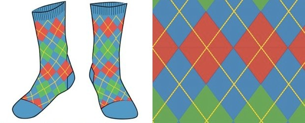 Argyle Sock Design Contest with Betabrand