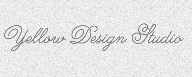Creative Fonts from Yellow Design Studio