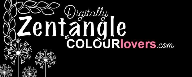 Come Digitally Zentangle Using Seamless Lite