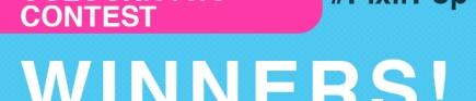 COLOURlovers + PIXLR #PixlrPop Contest Winners Announced!