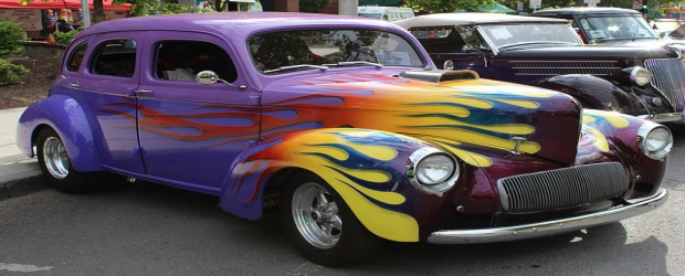 Color Inspiration in Cars: Hot Rods Painted in Every Hue