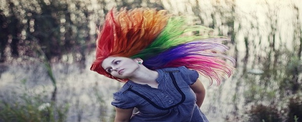 Color Inspiration in Hair: Lovely Rainbow Locks