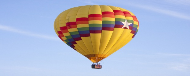Color Inspiration in the Air: Hot Air Balloons in Every Hue