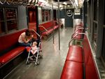 1940s subway car