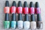 dark nail polishes