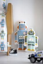 robots vintage boys