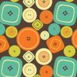 vintage button print