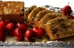 Honey cake and fruit