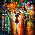 la pluie à Paris