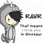 RAWRR I LUV CHU!