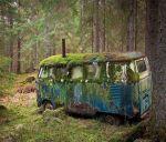 Abandoned VW Bus