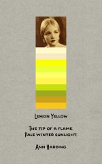 Lemon Yellow 1