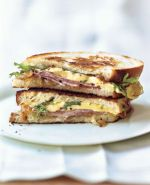 Ham & Inion Sandwich