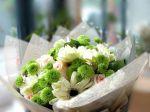Organza Flower Wrap