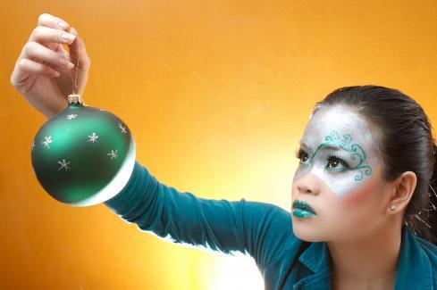 Amee Barua make-up shoot