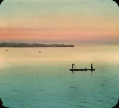 Native Boat, Kongo River.